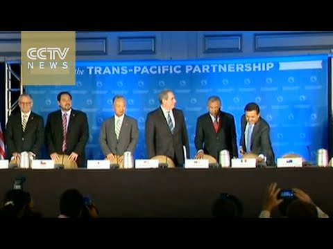 Pacific Rim countries reach deal on TPP free trade pact