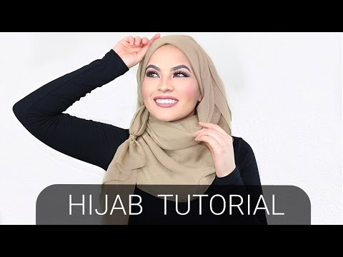 HIJAB TUTORIAL with RINGS! - YouTube