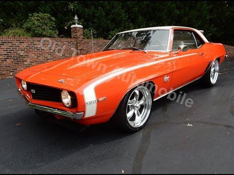 1969 Camaro X66 Hugger Orange for sale Old Town Automobile ...