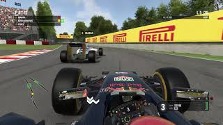 F12016, (PS4) Canada, 50% race, hard, full simulation