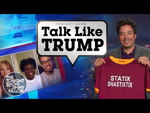 Talk Like Trump: Internet, Statistics