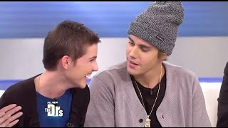 Justin Bieber Surprise Visit For A Young Burn Victim On (The Drs Show) thumbnail