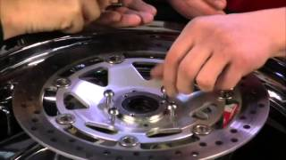 Installation of Centramatic Wheel Balancers For Goldwing 1800's