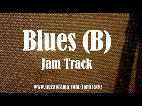Epic Chicago Blues Backing Track (B)