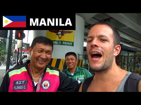 MY FIRST TIME IN THE PHILIPPINES - WHAT IS MANILA LIKE?