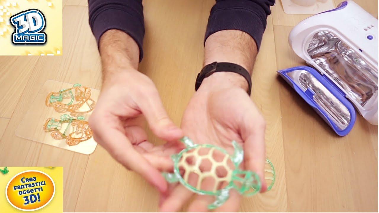 spesso Laboratorio 3D Grandi Giochi 3D Magic per creare di tutto! - YouTube VZ57