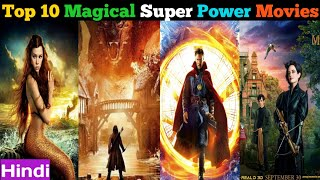 Top 10 Best Magical & SuperPower Movies In Hindi | As Per IMDb Rating