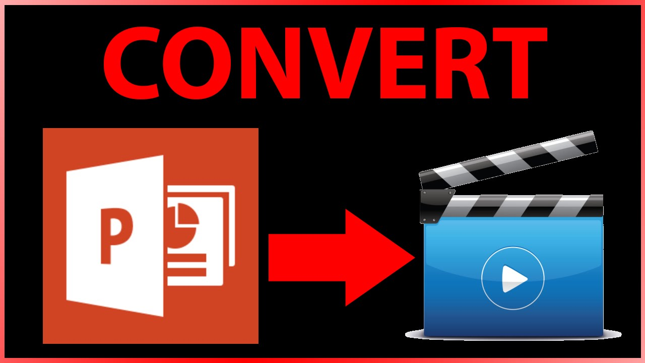 How to convert PowerPoint file (ppt / pptx) to mp4 video file for ...