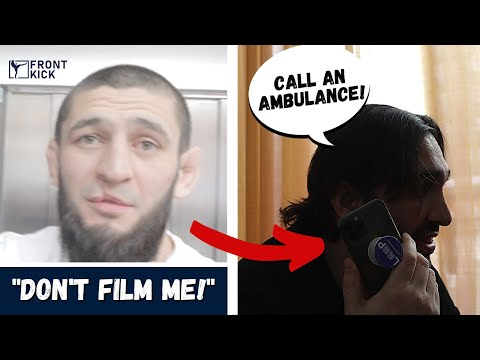 """Khamzat Chimaev HOSPITALIZED – """"thought he was going to die"""" **Exclusive behind-the-scenes footage**"""