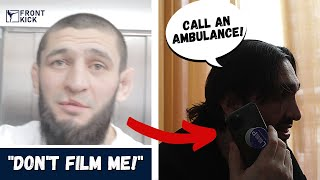 "Khamzat Chimaev HOSPITALIZED - ""thought he was going to die"" **Exclusive behind-the-scenes footage**"
