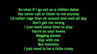 Avril Lavigne - What The Hell Lyrics