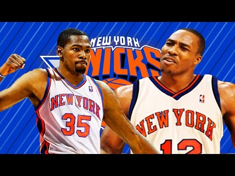 What if Kevin Durant & Dwight Howard signs to the New York Knicks?