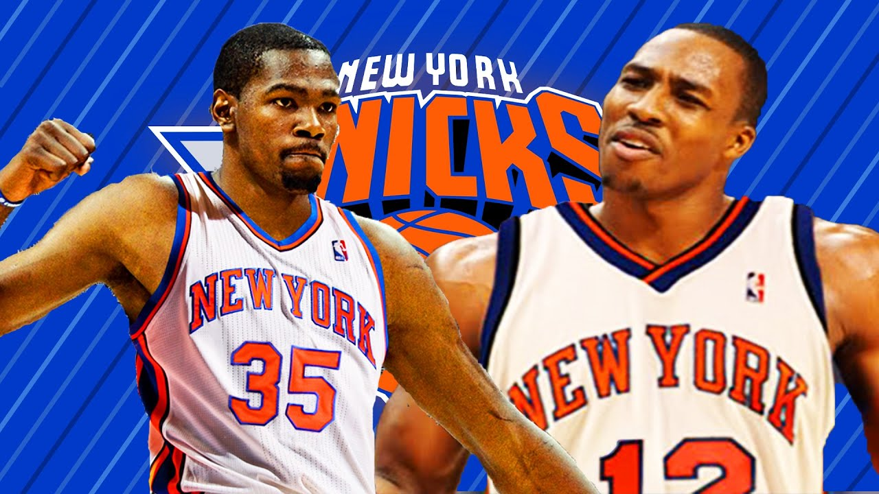 210ed5c8f03 What if Kevin Durant   Dwight Howard signs to the New York Knicks ...