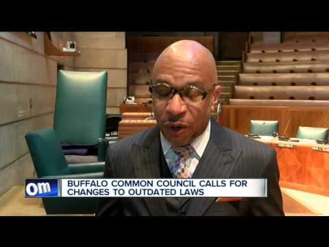 Buffalo Common Council calls for changes to outdated laws