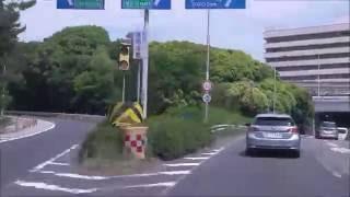 国道423号(新御堂筋線)~府道2号(中央環状線)~国道1号~山田池公園