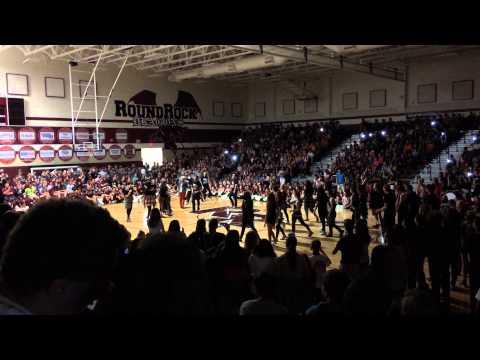Round Rock High School teachers vs. Rock Revolution 2015