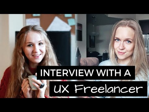 Freelance UX Design - Interview with Anfisa | #UXJanuary
