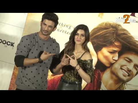 Thumbnail: Sushant Singh Rajput and Kriti Sanon At Raabta Trailer Launch | Bolly2box