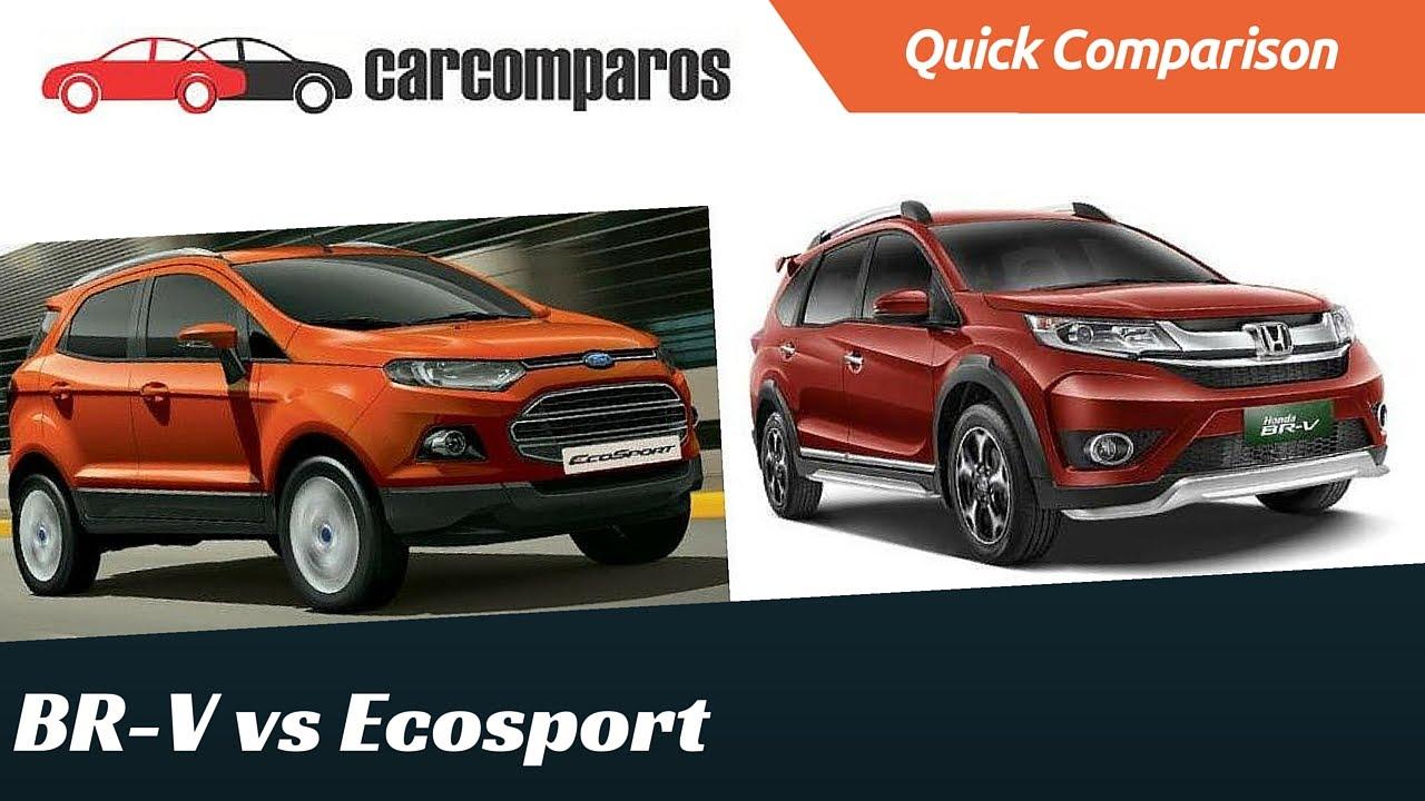 brv vs ecosport comparison - youtube