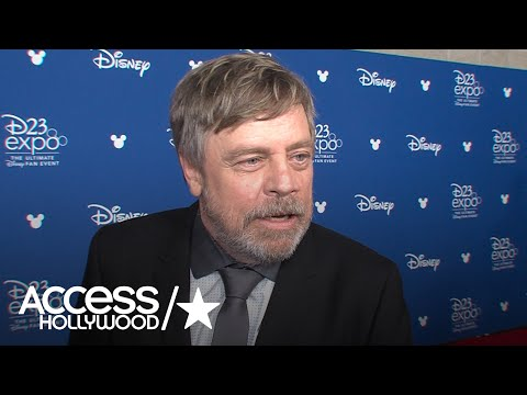 Mark Hamill Says Disney Legend Award 'Overwhelming'; Talks 'Star Wars: Episode VIII The Last Jedi'