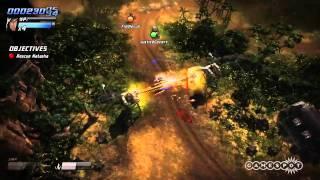 Renegade Ops - Two-Player Split-Screen Gameplay