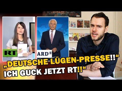 """""""Deutsche LÜGEN-PRESSE!! Ich guck jetzt RT!!"""" [ARMES DEUTSCHLAND]"""
