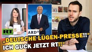"""""""Deutsche LÜGEN-PRESSE!! Ich guck jetzt RT!!"""" [ARMES DEUTSCHLAND] thumbnail"""