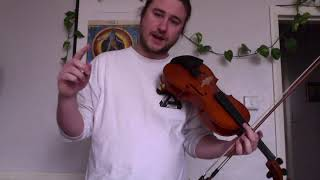 Violin with Ruben Zilberstein - Technique shorts - tuning your instrument