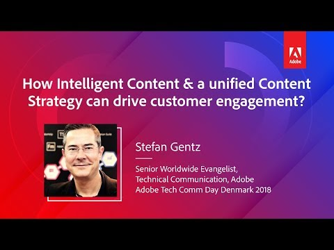How Intelligent Content & A Unified Content Strategy Can Drive Customer Experience | Stefan Gentz