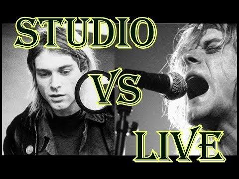 Kurt Cobain - Studio vs Live Screams