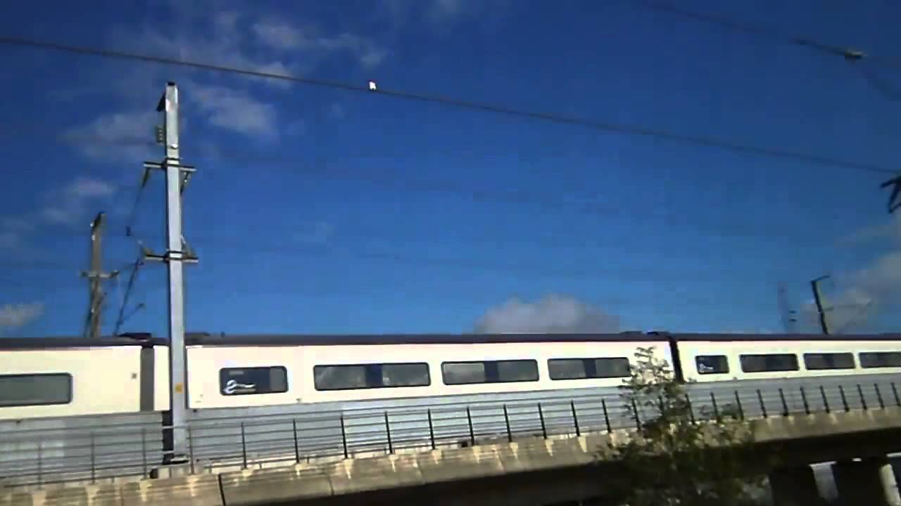 Ashford Paris Eurostar Class 373 From Paris Gare Du Nord Speeding Pass Ashford International For London 11 10 14
