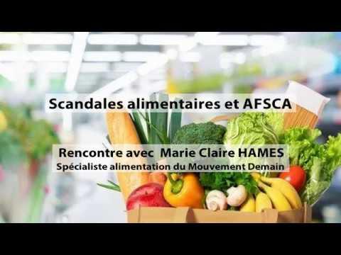 Scandales alimentaires et AFSCA