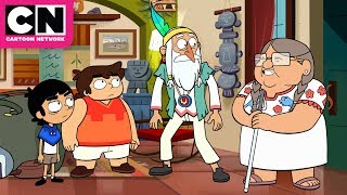 Sal Pays a Visit | Victor and Valentino | Cartoon Network