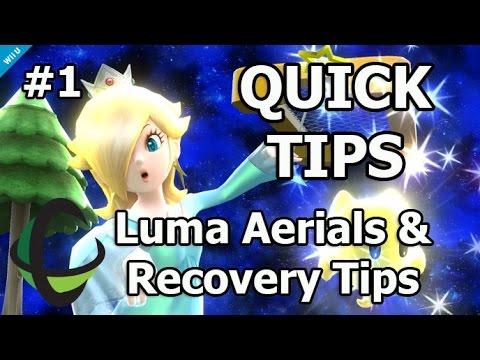 Download Quick Tips EP1: Rosalina (Luma Only Aerials & Recovery Angles) - Super Smash Bros Wii U