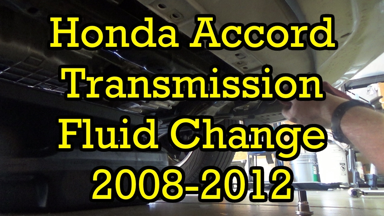 Honda Accord 2 4l Automatic Transmission Fluid Service 2017 2008 Similar Drain And Fill