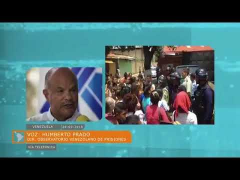 QUEMAN Y ASESINAN A RECLUSOS DE POLICARABOBO VENEZUELA
