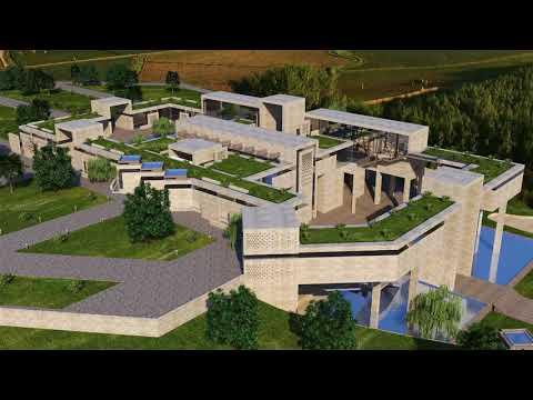 Farkhod Musakov - Bamiyan Cultural Centre Design Competition. Afghanistan
