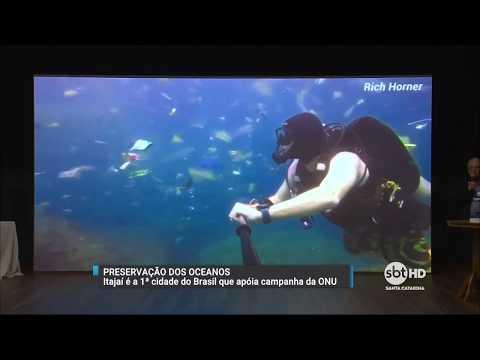 Itajaí promove ações para reduzir o lixo jogado no mar
