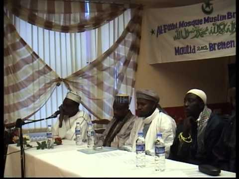 AL-FATHI MOSQUE BREMEN MAULID NABI 2012 PART 1