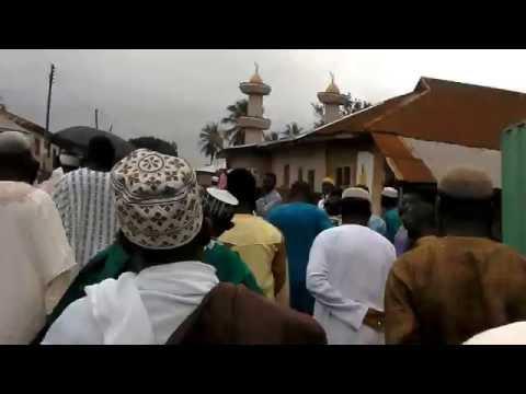 Wenchi Brong Ahafo region Ghana (Eid  Al-Adha) 2015