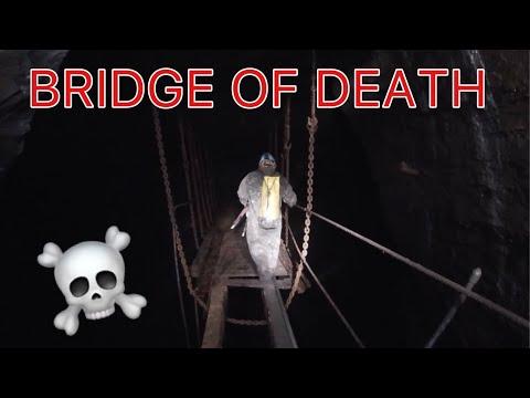 BRIDGE OF DEATH - Exploring The Vast Slate Mine In Wales U.K.