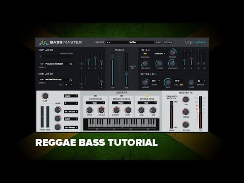 Bass Master Tutorial | Fat Reggae / Hip Hop Bass