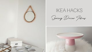 IKEA HACKS 2018 | DIY Spring Decor Ideas