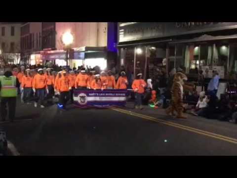 Maces Lane Middle School Band - Christmas Parade 2016