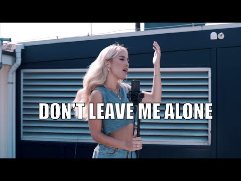 David Guetta Ft. Anne-Marie - DON'T LEAVE ME ALONE (cover By Kimberly Fransens)