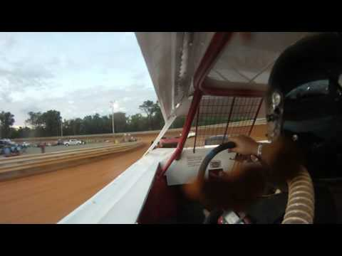 9-3-16 Hagerstown Speedway Pure Stock Heat Race - Brandon Churchey