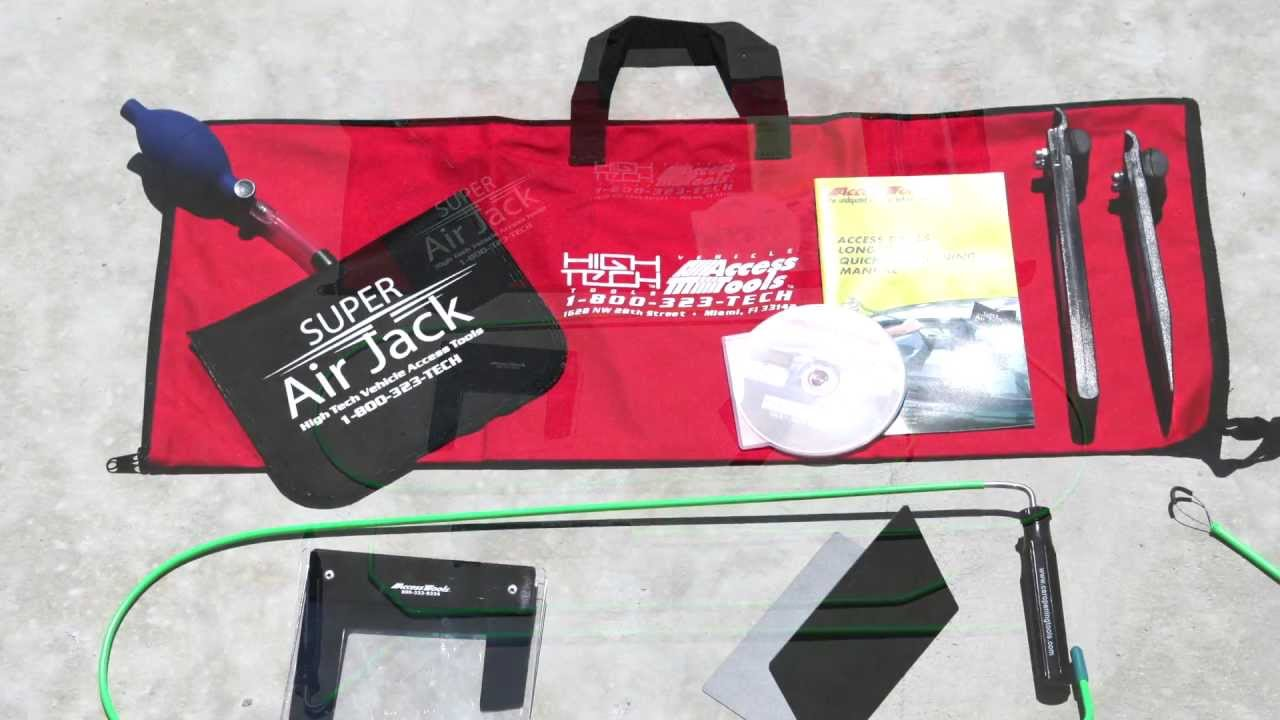 Car Door Unlock Kit >> Access Tools - Emergency Response Kit (ERK) Unlock Cars in an Emergency - YouTube