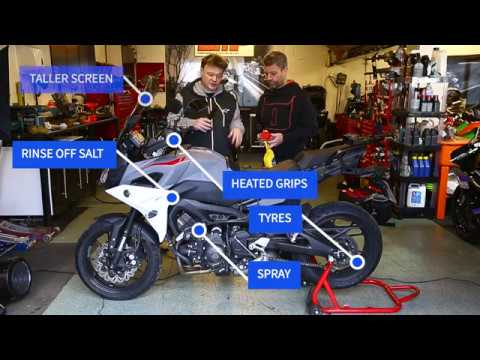 Top Tips for Preparing Your Motorbike for Winter Riding | Keep Britain Biking