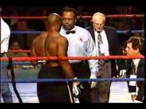 Awesome knockout Jason Barnett KO