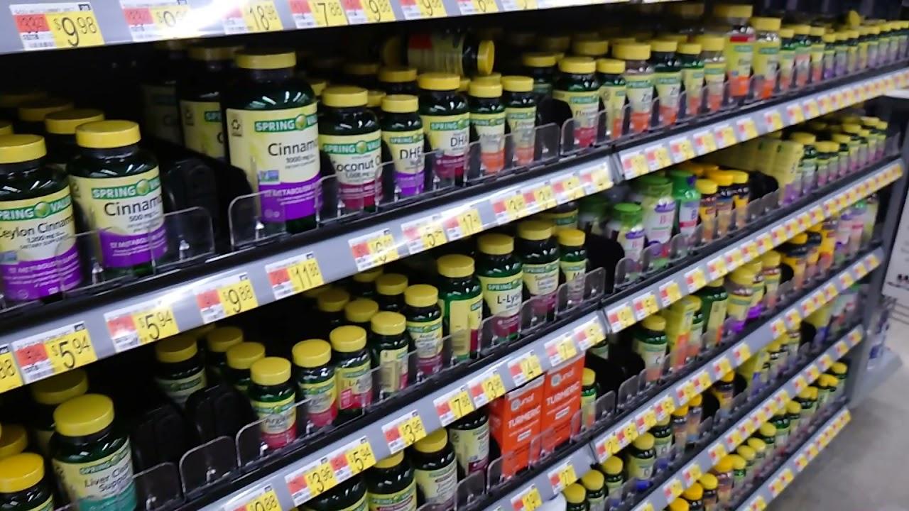 Đi siêu thị walmart mua 2 chai thuốt bổ gan và tăng cường trí nhớ!